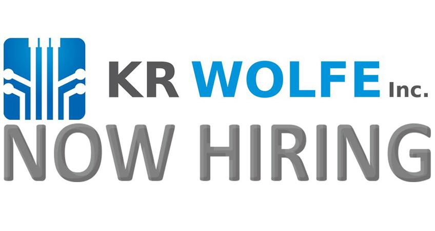 KR Wolfe is Hiring!
