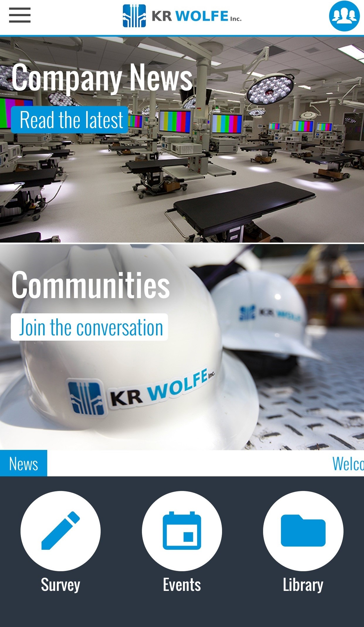KR Wolfe Goes Digital and Welcomes Our Own Employee App